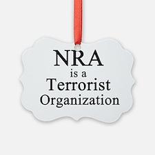 NRA Terrorist Ornament