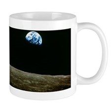 Earthrise over Moon, Apollo 8 Mug