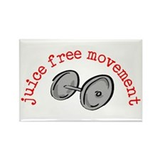Juice Free Movement Rectangle Magnet