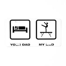 Gymnastic---Balance-Beam-AB Aluminum License Plate