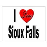 I Love Sioux Falls Small Poster