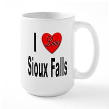 I Love Sioux Falls Mug