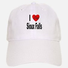 I Love Sioux Falls Baseball Baseball Cap