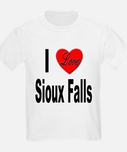 I Love Sioux Falls (Front) T-Shirt