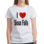 I Love Sioux Falls (Front) Women's T-Shirt