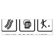 Kickball-AAX1 Bumper Sticker