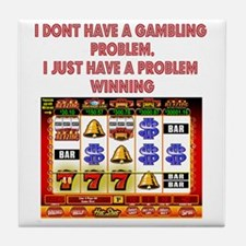 Gambling Problem Tile Coaster