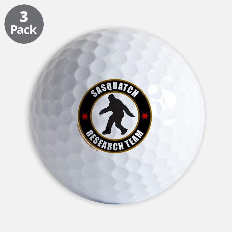 SASQUATCH RESEARCH TEAM T-SHIRTS AND GI Golf Ball