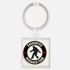 SASQUATCH RESEARCH TEAM T-SHIRTS A Square Keychain