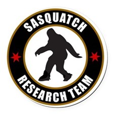 SASQUATCH RESEARCH TEAM T-SHIRTS  Round Car Magnet