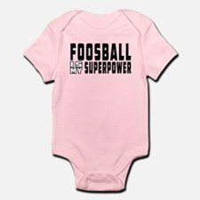 Foosball Is My Superpower Infant Bodysuit