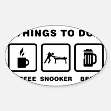 Snooker-ABH1 Sticker (Oval)