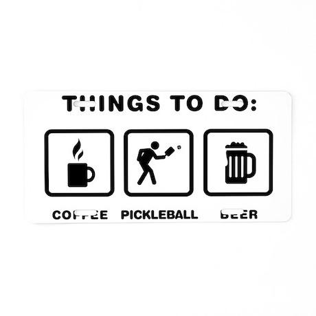Pickleball-ABH1 Aluminum License Plate