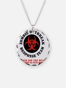 zombie outbreak response tea Necklace