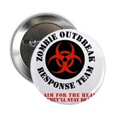 "zombie outbreak response team 2.25"" Button"