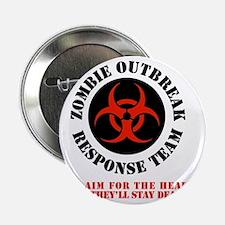 """zombie outbreak response team 2.25"""" Button"""