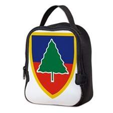 91st Division Training.png Neoprene Lunch Bag