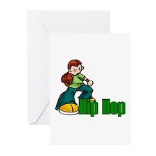 Hip Hop Dance Greeting Cards (Pk of 10)
