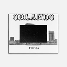 Orlando_12x12_LakeEolaFountain_Black Picture Frame