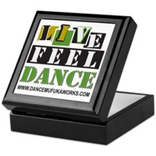 live feel dance Keepsake Box