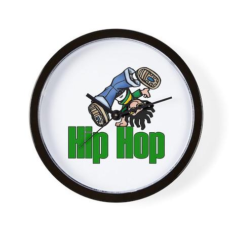 Hip Hop Dance Wall Clock