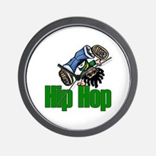 Hip Hop Dance Wall Clock