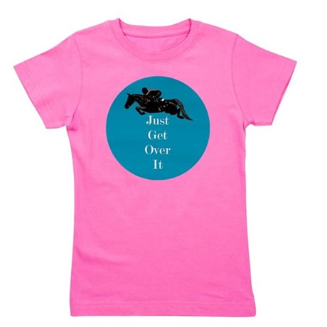 Just Get Over It Horse Jumper Girl's Tee