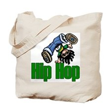 Hip Hop Dance Tote Bag
