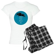Just Get Over It Horse Jump Pajamas