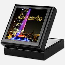 Orlando_10X8_puzzle_mousepad_LakeEola Keepsake Box