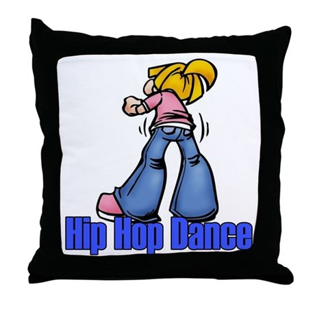 Hip Hop Dance Throw Pillow
