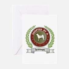 Norrbottenspets Adopted Greeting Cards (Package of