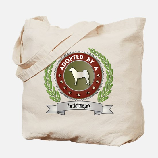 Norrbottenspets Adopted Tote Bag