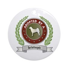 Norrbottenspets Adopted Ornament (Round)
