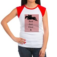 Just Get Over It Horse  Women's Cap Sleeve T-Shirt