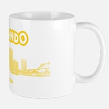 Orlando_OrlandoSkyline_Yellow Mug