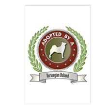 Buhund Adopted Postcards (Package of 8)