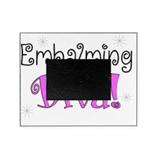 embalming diva pink Picture Frame