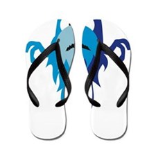 water elemental Flip Flops