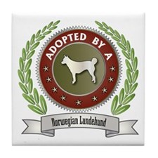 Lundehund Adopted Tile Coaster