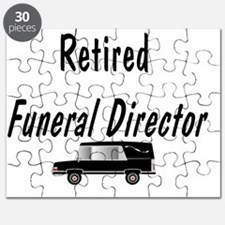 Retired Funeral director HEARSE Puzzle