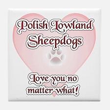 Lowland Love U Tile Coaster