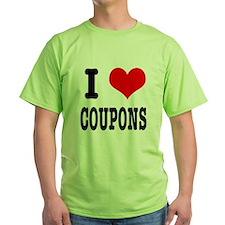 I Heart (Love) Coupons T-Shirt