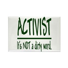 """Activist"" Rectangle Magnet (10 pack)"