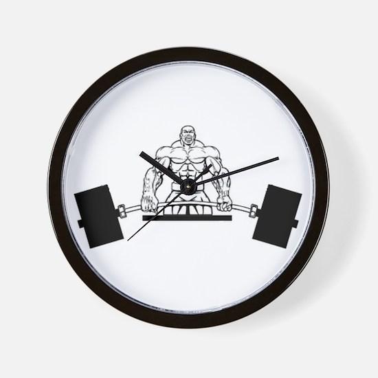Workout Beast Wall Clock