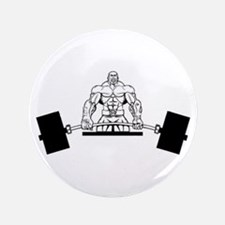 "Workout Beast 3.5"" Button"