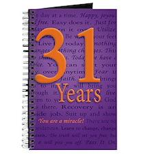31 Year Recovery Birthday Journal