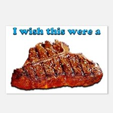i Wish Collection - Steak Postcards (Package of 8)