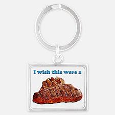 i Wish Collection - Steak Landscape Keychain