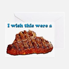 i Wish Collection - Steak Greeting Card